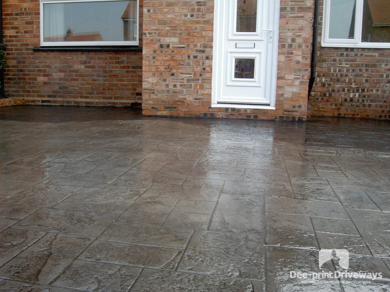 Driveways Gallery Chester Driveways Pattern Imprinted